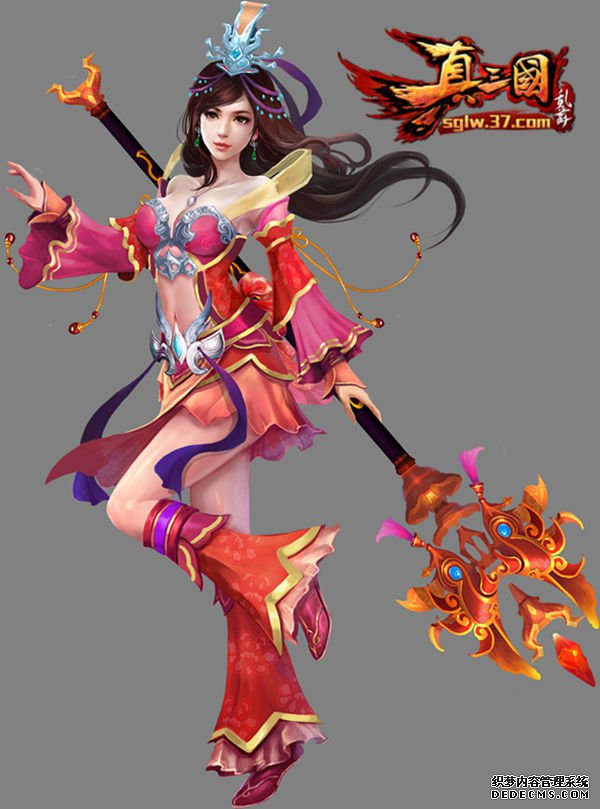 全新3DARPG游戏37真三国乱舞精美原画首亮相
